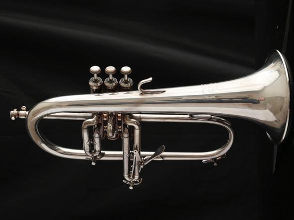Pre-Owned Bach Stradivarius 183 Flugelhorn in Silver Plate!
