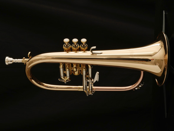 Pre-Owned ACB Doubler's Flugelhorn in Clear Lacquer! Fully Optimized!