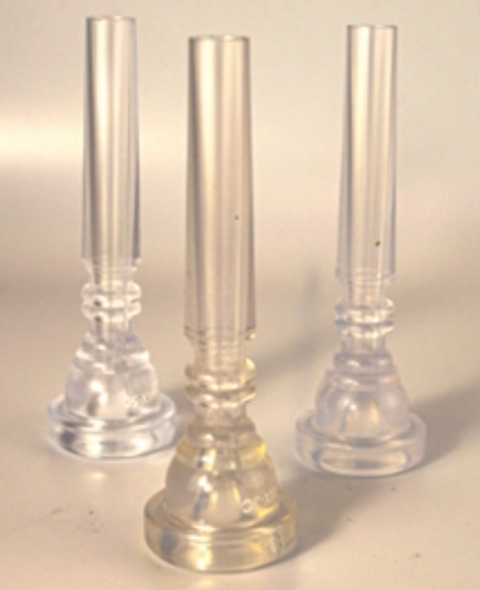 All Clear Polycarbonate FAXX 5C Mouthpiece: Perfect for Marching!