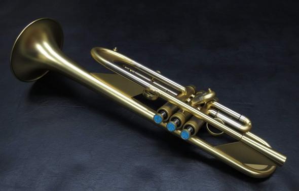 Brasspire 918 Heavy Weight Style Custom Professional Bb Trumpet