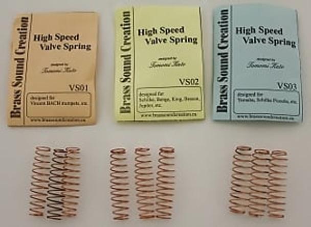 High Speed Valve Springs for Trumpet