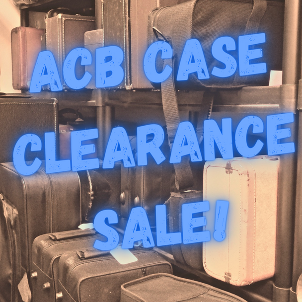 ACB Case Clearance Sale! Pre-Owned and Shop Demo Deals!