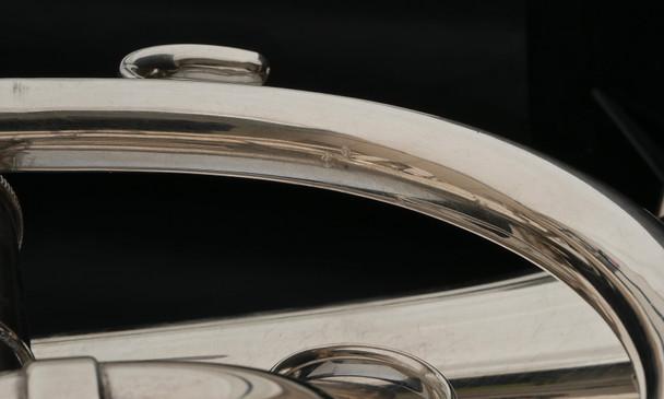 Pre-owned Early Getzen Eterna Cornet in Silver Plate!