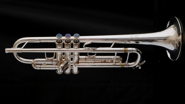 Super   Rare Bach Stradivarius 65GH Large Bell Trumpet: One of a kind