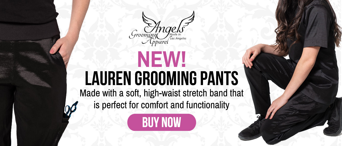 New Lauren Grooming Pants from Angels Grooming Apparel