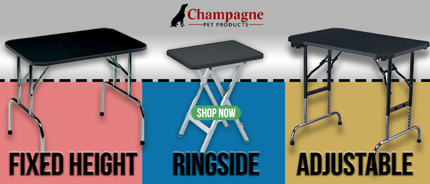 champagne tables