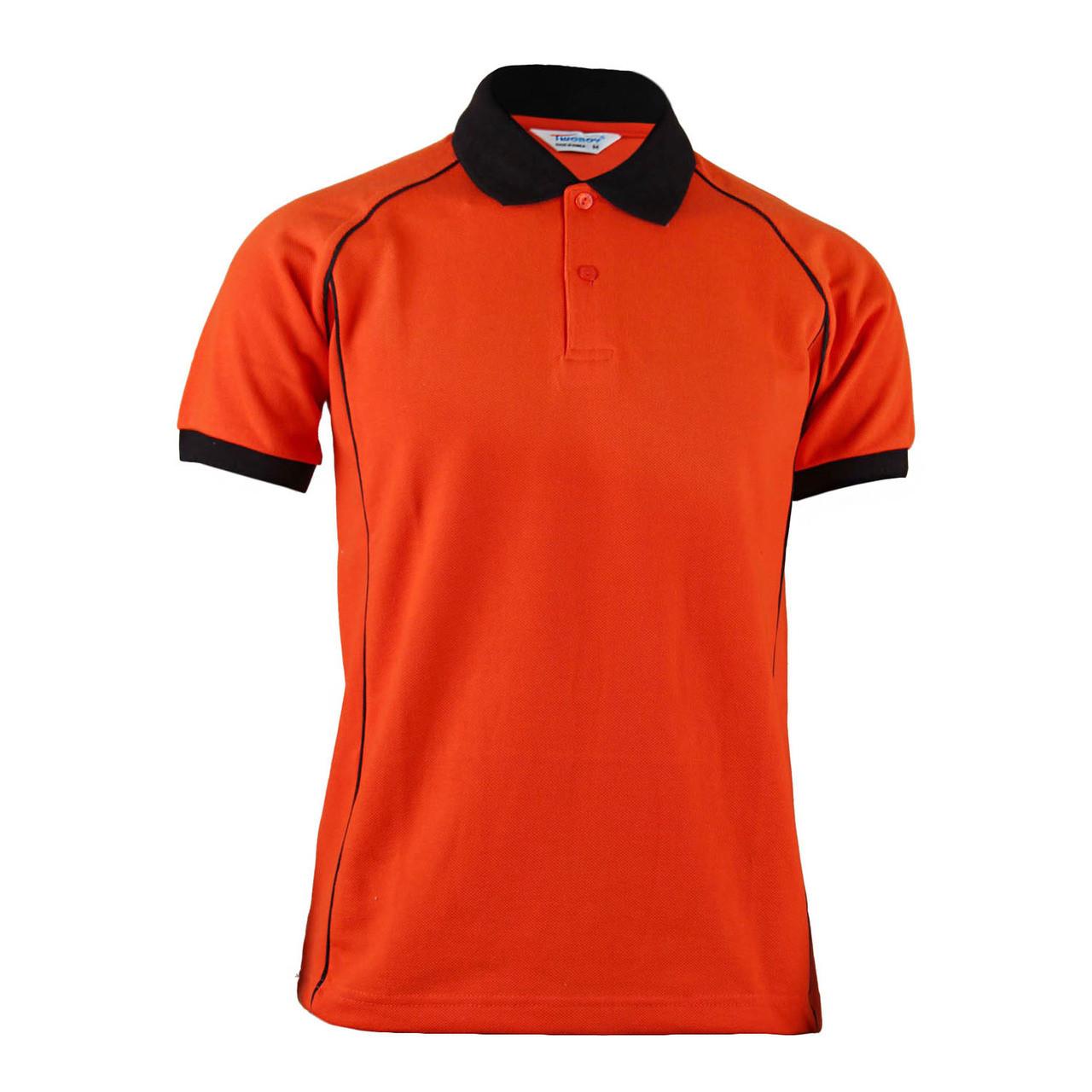 Shirt fashion orange White Orange