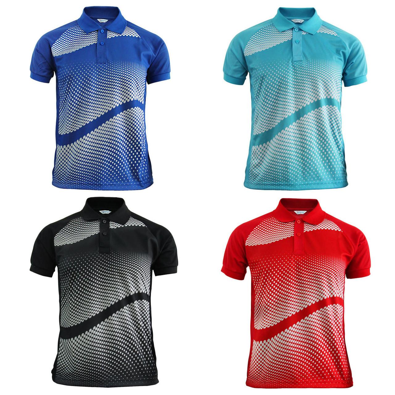 28759656 Graphics Design Polo Shirt Sky blue Golfwear Short Sleeve Summer Shirt