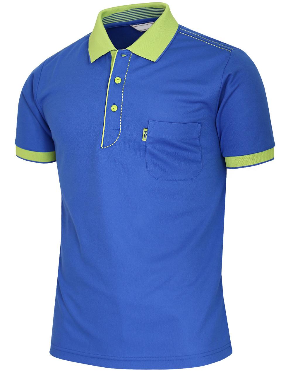 9ba84c5b Short Sleeve Dri Fit Stitch Point Polo Shirt-Unisex