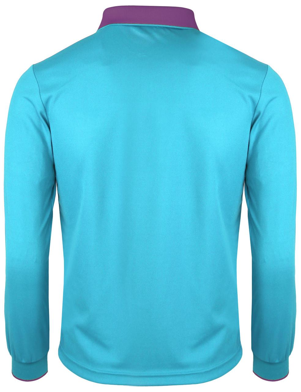 01f5dd94 Long Sleeve Dri Fit Stitch Point Polo Shirt-Unisex
