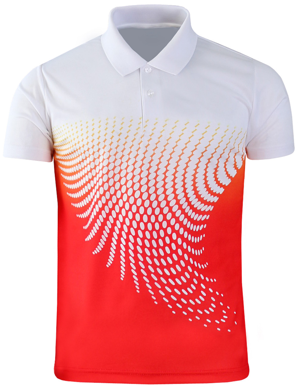 in stock clearance sale sophisticated technologies Casual short sleeves Graphic pattern Design Polo Shirt-Unisex