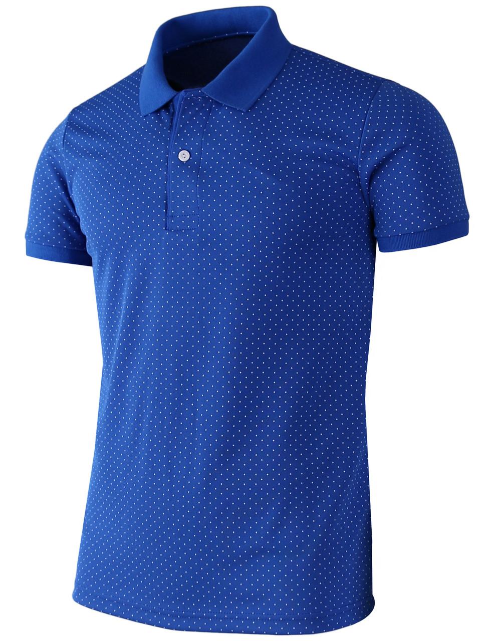 e2ae6d08 Casual short sleeves Dot pattern Design Polo Shirt-4 colors-Unisex