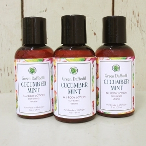 Cucumber Mint 2 oz. Lotion