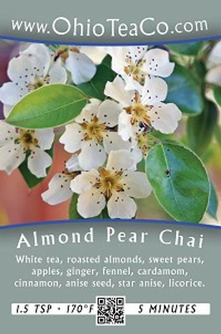 Almond Pear Chai | 1 oz