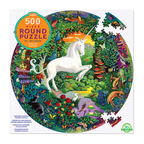 Unicorn Garden 500 Piece Round
