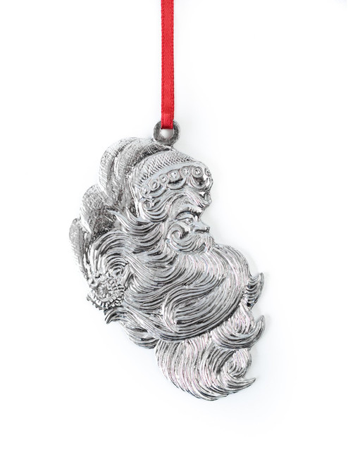 Santa Claus Profile Ornament
