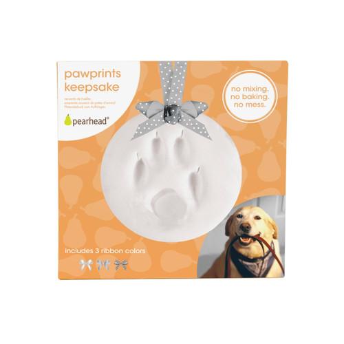 Pet Paw Prints Keepsake Ornament