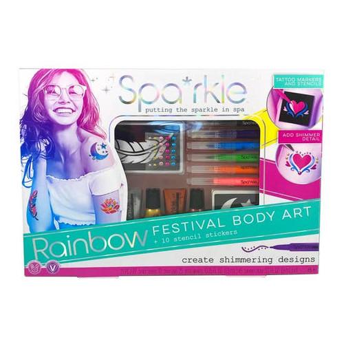 Spa*rkle Rainbow Festival Boy Art