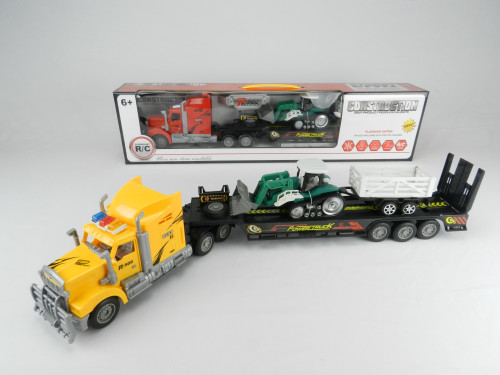 R/C Kid's Toy wholesale 18-Wheeler Truck with tractor. Excellent gift for boys & girls!