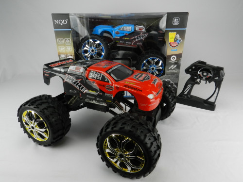 R/C Wholesale kid's toy 4 =wheeler bigfoot car with remote control. Excellent gift idea for any rough'n'tumble kid who enjoys taking a car out for a spin in all sorts of terrain!