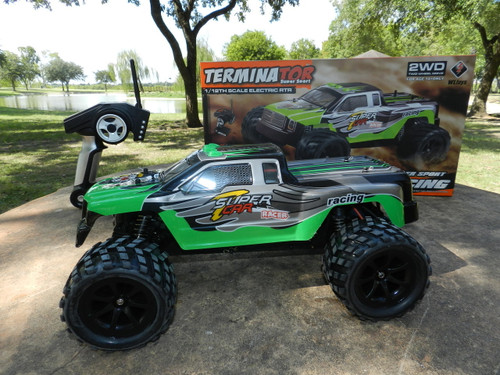 R/C Wholesale Kid's Toy High Speed Hobby Grade Racing Car. Bring the fun of racing track to your own backyard!