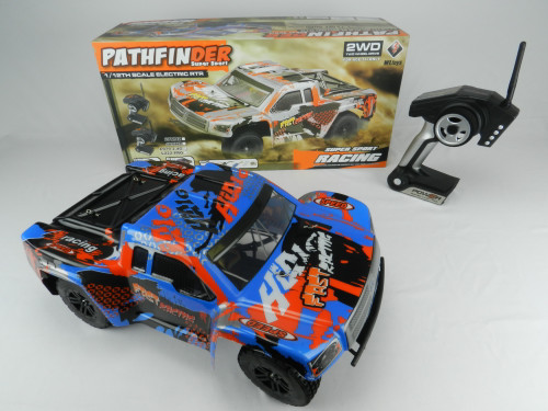 R/C Wholesale Kid's Toy High Speed Hobby Grade Racing Truck. Bring the fun of racing track to your own backyard!