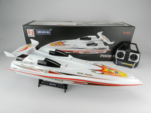 R/C Wholesale kid's toy jumbo racing boat! What kid wouldn't want to receive this as a gift for Christmas?!