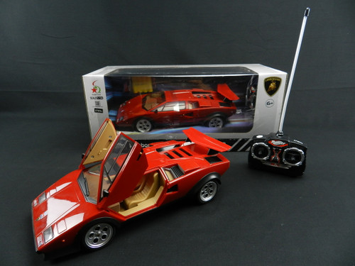 R/C Kid's toys wholesale Lamborghini Countach. Excellent model car for gift giving as well!