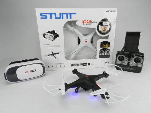Best wholesale R/C Kid's toy Drone with wifi-camera. Take pictures & videos and experience VR!