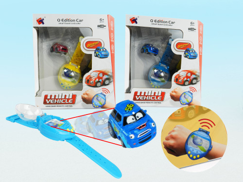R/C Wholesale Kid's toy little watch car. Excellent gift for little boys and girls who want to drive a car from their wrist!