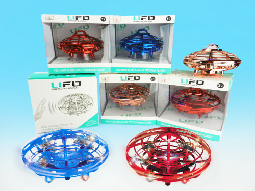 Wholesale Kid's toy hand-sensor UFO drone. Control this with hand gestures! Best toy for kids!
