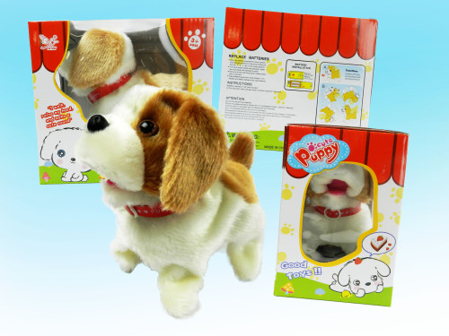 Best toy wholesale kid's cute backflipping puppy.