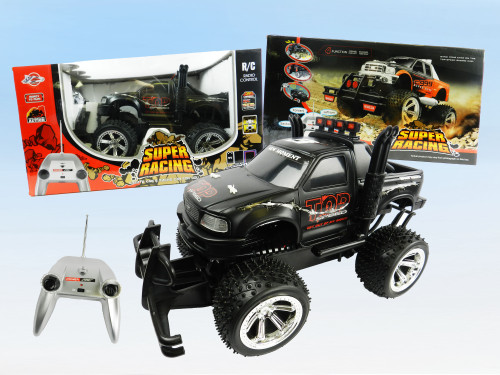 R/C Wholesale kid's toy Jumbo Monster truck. Excellent charity gift idea for the holidays!