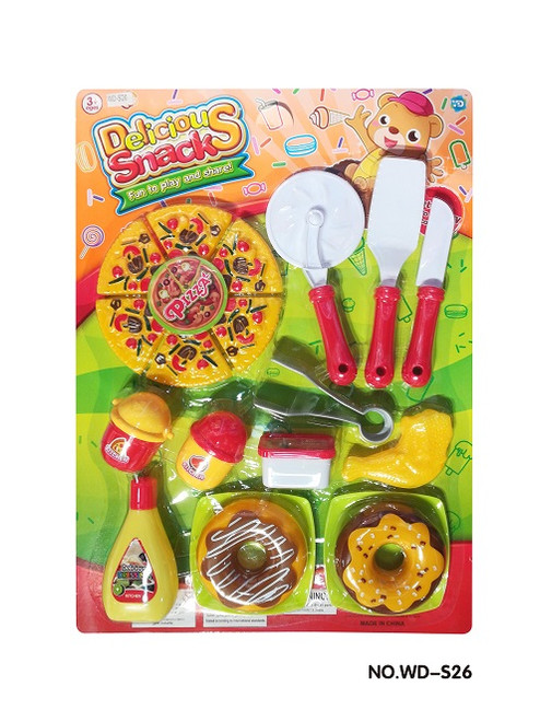 Wholesale kid's toy imaginary snack play set.