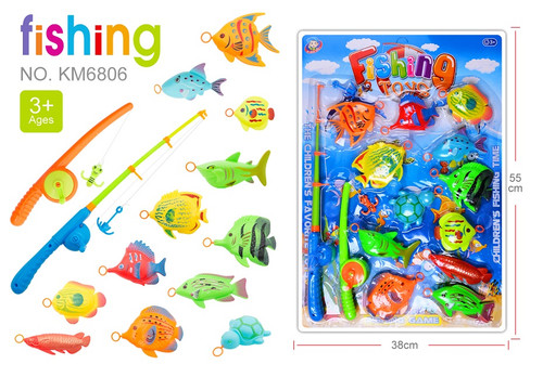 Wholesale Kid's Toy fishing Set. Take your kids out and go fish! Excellent gift for the nature-loving kid!