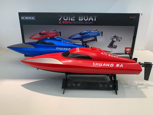 R/C Wholesale Kid's toy Speed Boat. What kid wouldn't love to receive this for Christmas? Makes for an excellent gift idea!