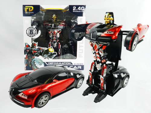 R/C wholesale kid's toy transformer car. Comes with Hand-sensor too for even more fun!