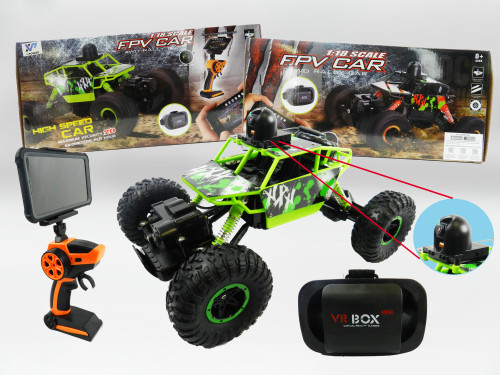 R/C Wholesale Kid's Toy Car with Wifi-Camera and FPV VR Goggles. Makes for an excellent gift for any child this holiday season!