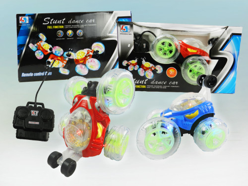 R/C Wholesale Kid's Toy Light-up stunt car. A classic toy that every kid can enjoy!