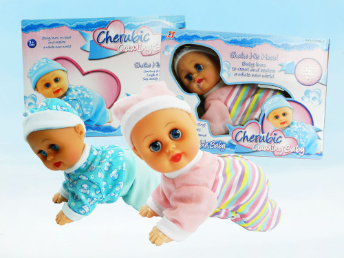 Wholesale Kid's Toy Crawling baby doll. Excellent educational toy or gift for boys and girls