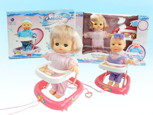 Wholesale Kid's Walking Baby Doll Toy. Excellent educational gift for boys and girls who want to play mommy & daddy.