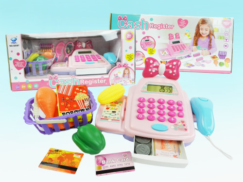 Wholesale Kid's toy cash register for both boys & girls alike! Makes for excellent educational gift during the holidays!