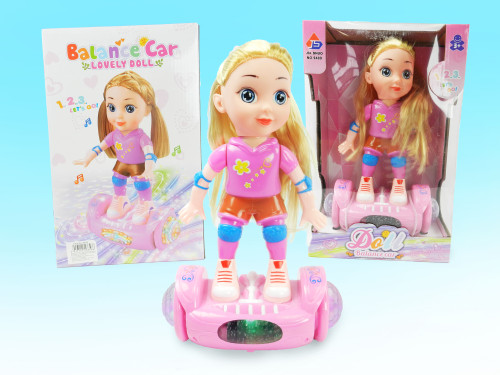 Best Wholesale  Kid's toy hoverboard doll. What little girl wouldn't love this toy for Christmas?!