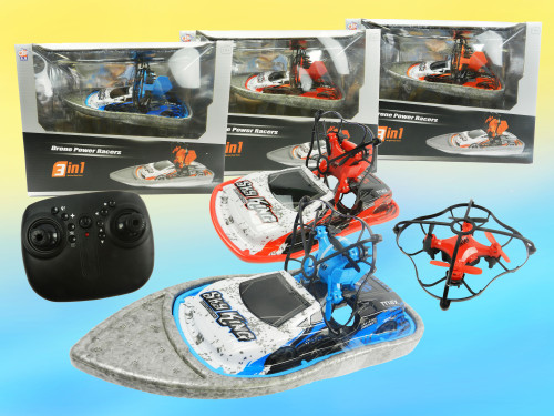 Best R/C Wholesale kid's toy Hoverboat drone! 3-in-1 cool toy for any occasion!
