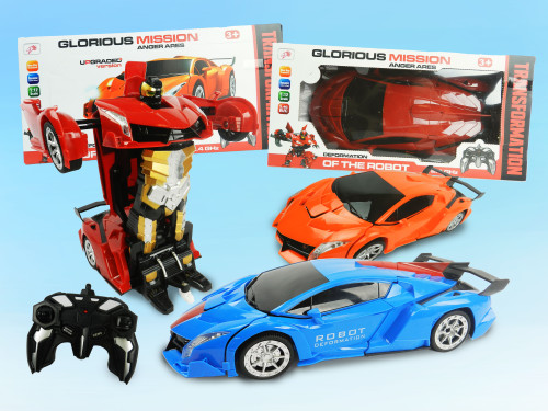 R/C Wholesale Kid's Toy Transformer robo car. A holiday classic toy for kids!