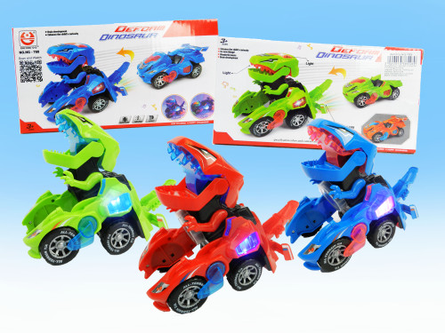 Best Wholesale Kid's Toy Dino Transformer Car. For little kids who like dinosaurs and robocars!