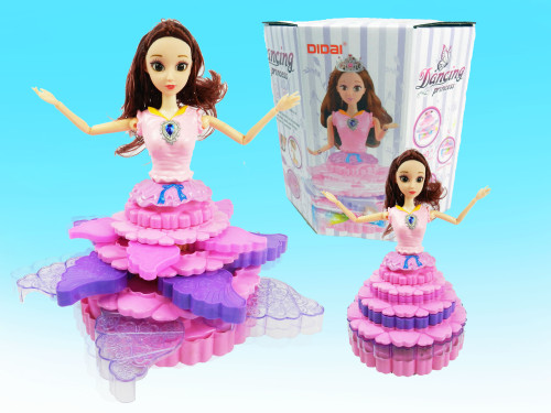 Best wholesale kid's toy  dancing princess doll with expanding dress! Little girls would absolutely love this toy!
