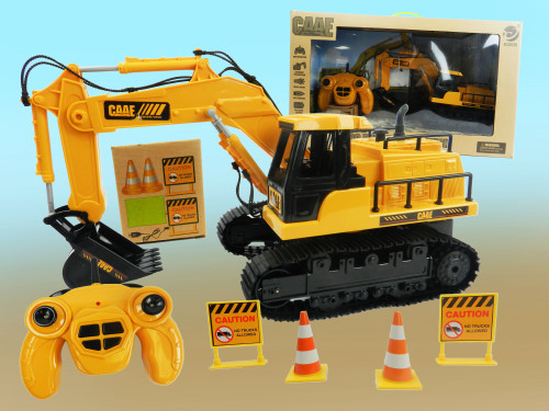 Best Wholesale R/C Kid's Toy Construction Tractor. Excellent educational toy for kids who want to learn more about hard work!
