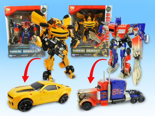 Wholesale Kid's Toy Transformer Toy. Classic toy that engages your mind as you work to manually transform the toy from Robot to vehicle