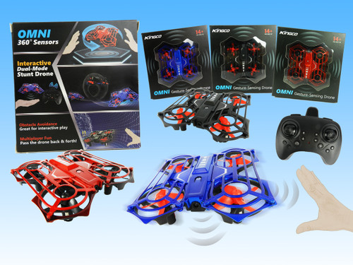 R/C Wholesale Kid's toy hand-sensor drone. Control this drone with your hands and watch it go! It's so easy, any kid can do it!